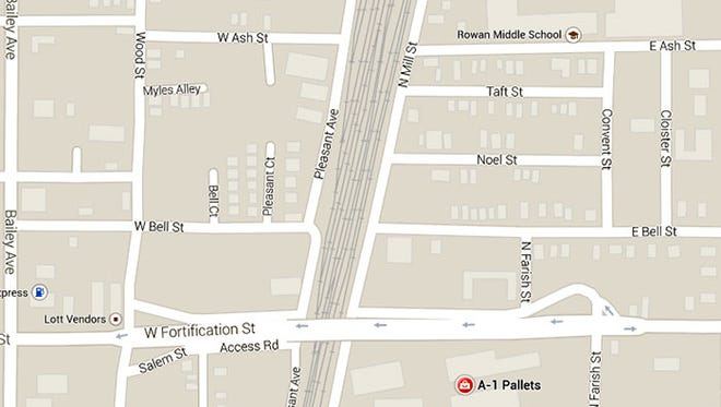The access road connecting Mill Street and Fortification Street will be closed Thursday, June 12, from 7 a.m. to 5 p.m.