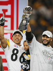 Hines Ward helped Jerome Bettis cap his career in style