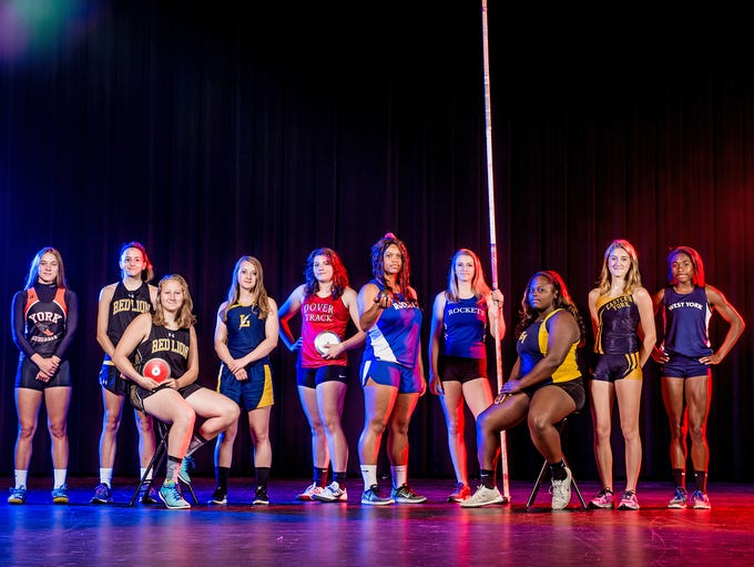 GameTimePA's all-star girls' track and field athletes