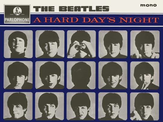 The Beatles' A Hard Day's Night album