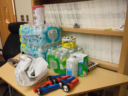 Students at New Mexico State University will continue to gather supplies for victims of the Mexico City earthquake from 3:30 to 4:30 p.m. Thursday, Sept. 21, 2017, in front of O'Donnell Hall on the NMSU campus.