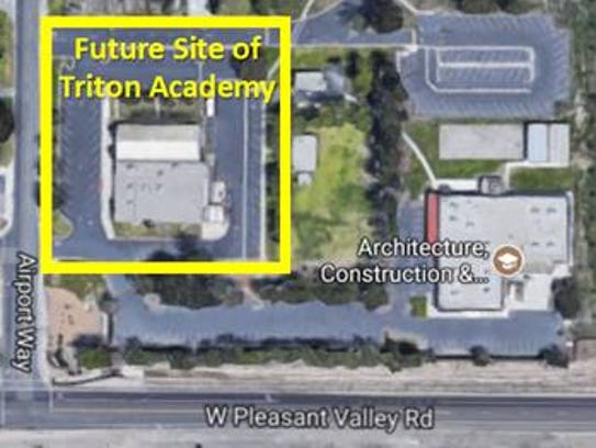 Triton Academy will be leaving its current location
