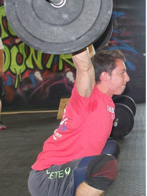 Mesquite's Chantz Ramos competed at the CrossFit South Regional event last weekend in Dallas.