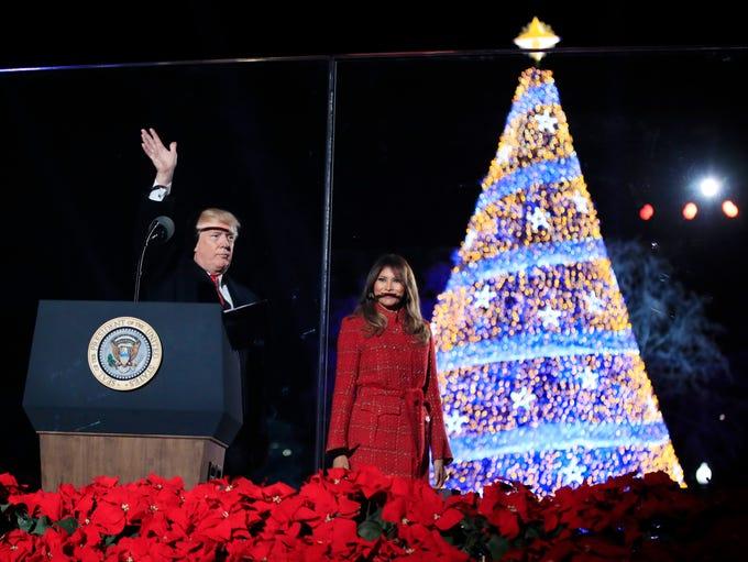 National Christmas Tree Lighting Ceremony 2017