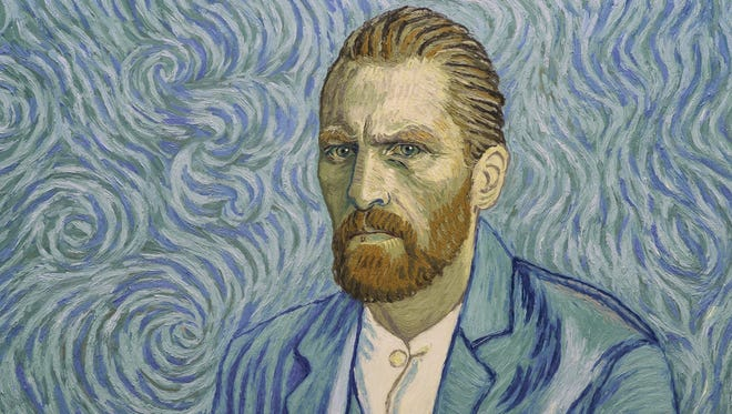"""Robert Gulaczyk portrays Vincent Van Gogh in """"Loving Vincent,"""" a film made entirely of oil paintings."""