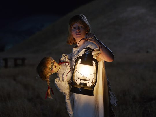 Lulu Wilson stars in 'Annabelle: Creation.'