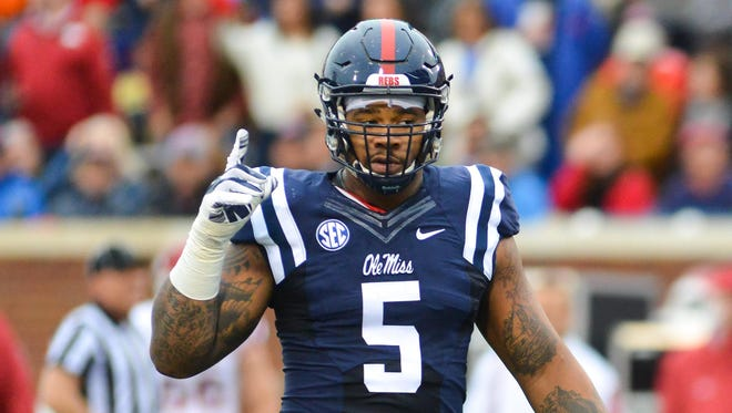 Former Ole Miss defensive tackle Robert Nkemdiche spoke with the media Friday afternoon at the NFL combine.