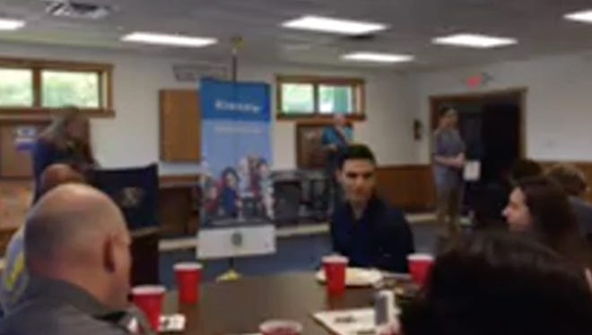The best in the city high school's technical education programs were guests on Thursday ofthe Millville Kiwanis.