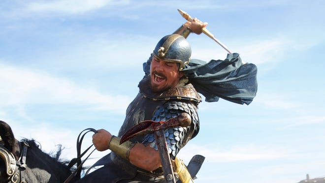 """Christian Bale puts a new spin on Moses in  """"Exodus: Gods and Kings."""""""