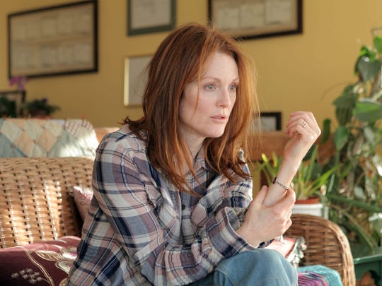 "Julianne Moore as Alice in a scene from the motion picture ""Still Alice."""