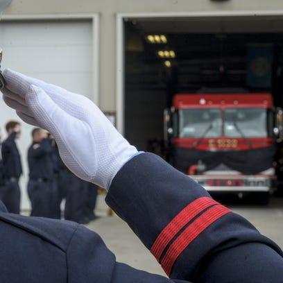 Bondurant lays to rest Deputy Chief 'Boxy'