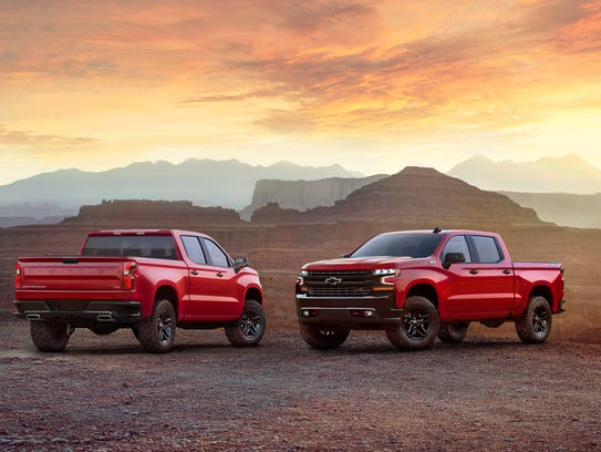 Front and back: the all-new 2019 Chevrolet Silverado