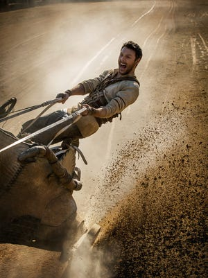 Judah Ben-Hur (Jack Huston) takes the reins of a racing chariot in 'Ben-Hur.'