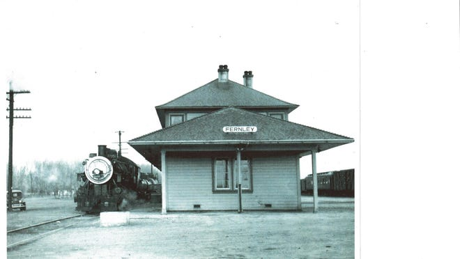 The Fernley Depot, seen circa the 1950s. City Council voted to move forward with the purchase of 9 acres of land behind the Depot for construction of a community and senior center.