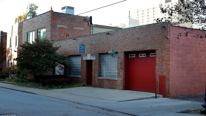 This Hot Property is a $1 million refurbished warehouse on Park Ave, just off Mass Ave. It's filled with loads of wood features, and lets in a ton of light from skylights above, but you wouldn't know this unassuming red door at 614 N. Park Ave.