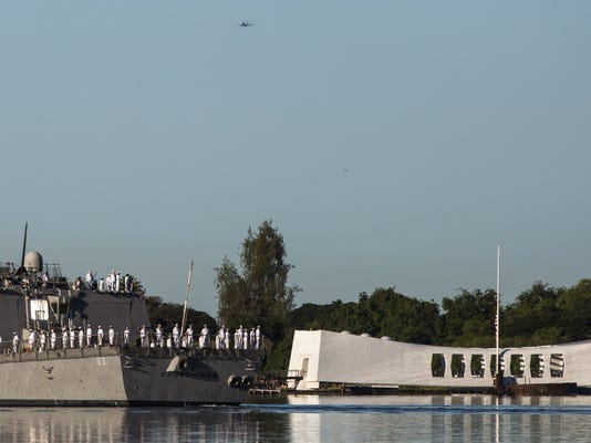 Remembrance Ceremony Held To Mark 73rd Anniversary Of Attack On Pearl Harbor