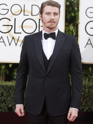 Garrett Hedlund arrives at the 73rd Annual Golden Globe Awards show at the Beverly Hilton Hotel in Beverly Hills, Calif., on Sunday, Jan. 10, 2016.