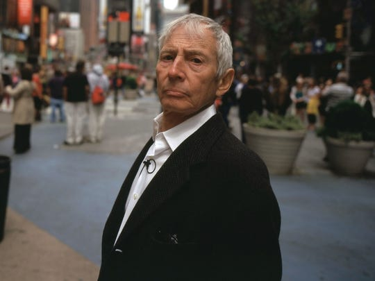 "Robert Durst is seen in an image from the HBO documentary ""The Jinx: The Life and Death of Robert Durst."""