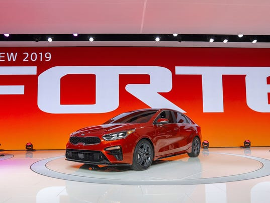North American International Auto Show, Detroit, USA - 15 Jan 2018