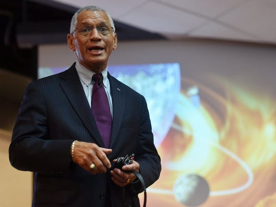 NASA Administrator Charles Bolden Jr. answers questions