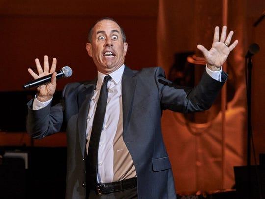 Comedian Jerry Seinfeld.
