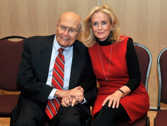 John and Debbie Dingell in 2014.