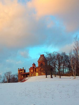 A First-Day hike will be held at Olana, the home of Hudson River School artist Frederic Edwin Church.