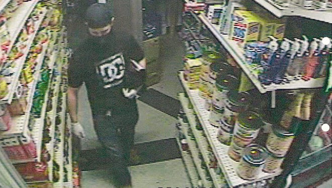 The South Lake Tahoe Police Deparment released this photograph of a burglary suspect who broke into the Mi Pueblo Market at 3885 Pioneer Trail.