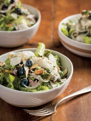 Stephanie Izard's kohlrabi salad changes with the seasons;
