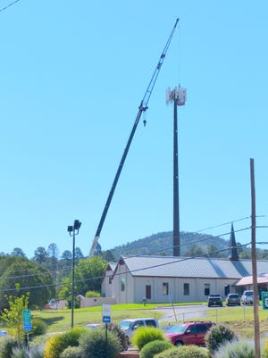 Apparently, some camouflage work lies ahead for the communication tower at South Sutton Drive and Sudderth Drive to disguise the structure, but some residents aren't convinced it ever will resemble a pine tree.