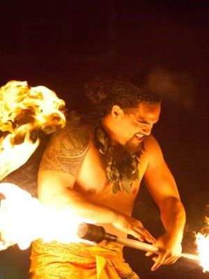 Tolo Tuitele, a fire and knife dancer, will perform at Lu'au Saturday at Willamette University.