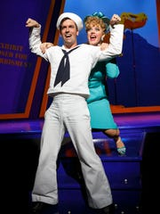 Clyde Alves and Elizabeth Stanley perform in 'On the