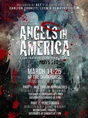 """Poster for """"Angels in America."""""""