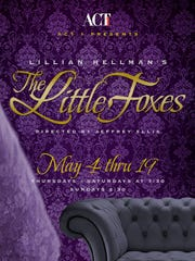 Poster image for THE LITTLE FOXES.