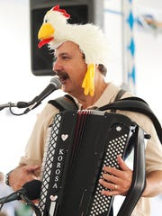 The Chicken Dance is all cued up for The German American Social Club's Oktoberfest.