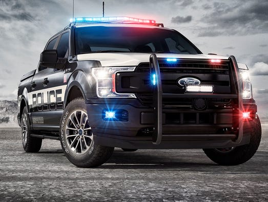 Ford Creates Pursuitrated F Police Pickup Truck - Ford
