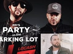 Win PIT tickets to see LOCASH and Tyler Farr!  Enter 8/7 – 9/7.