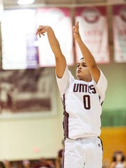 UMES freshman Ryan Andino was named MEAC Rookie of