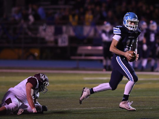 Wayne Valley QB Grant Ferrauilo has thrown for 33 touchdowns this season and guided the Indians to this week's North 1, Group 4 semifinals.