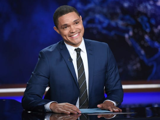 In this Sept. 29, 2015 file photo, Trevor Noah appears