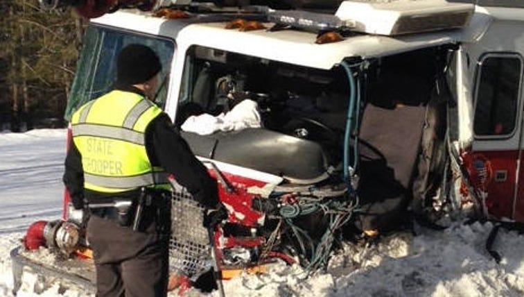 Munson Township fire truck