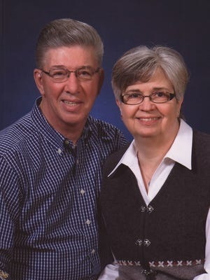 Gary and Marilyn DeNamur, Sturgeon Bay, remain active members of Zion Lutheran Church where they were married 50 years ago on Halloween.