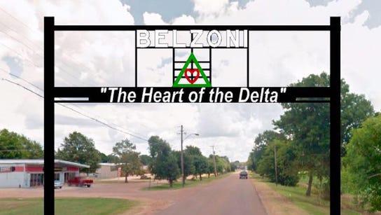 Belzoni, Miss. sign