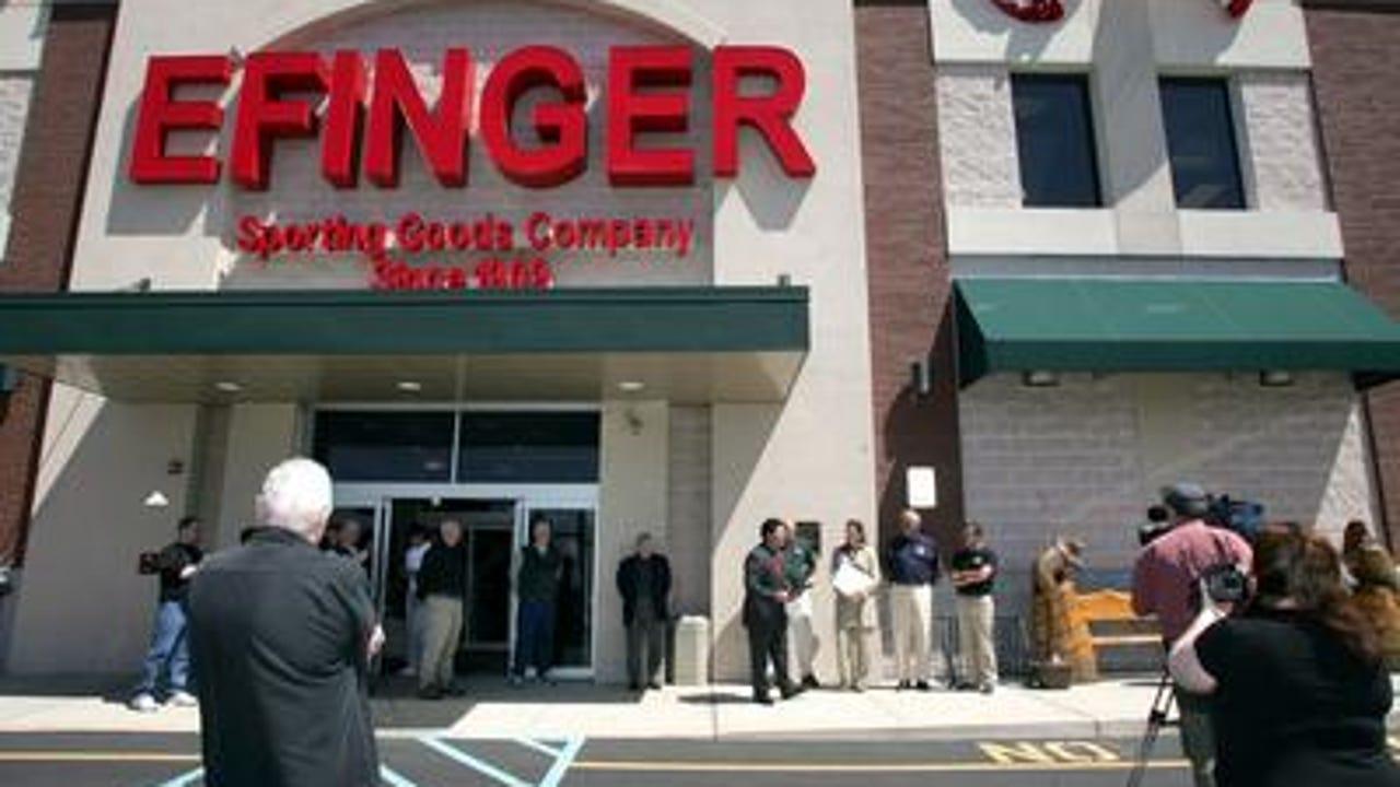 WATCH: Customer talks Efinger closing