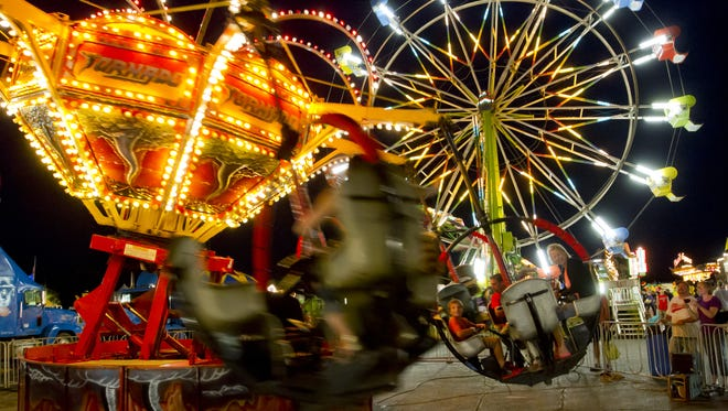 If carnival rides get you going, you're in luck. Northeast Wisconsin offers plenty of opportunities to spin 'til you can't walk straight over the course of the summer.