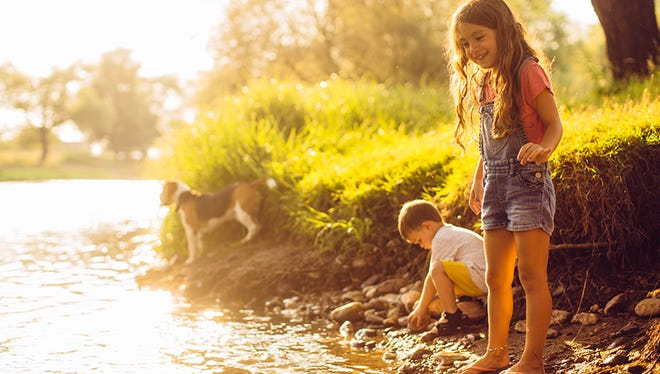 Take the family to a swimming hole, river or lake to cool off this summer.