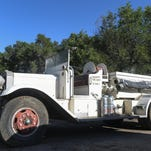 "Poudre Fire Authority purchased a historic ""Holabird"" firetruck last weekend at the Swets Farm equipment auction. The vehicle was operated by the Fort Collins Fire Department from 1947 into the 1970s."