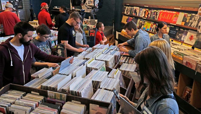The Exclusive Company will open at 7 a.m. Saturday for the 10th annual Record Store Day.