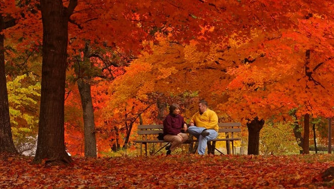 Fall colors are about to explode in Arkansas, especially in the Ozarks.
