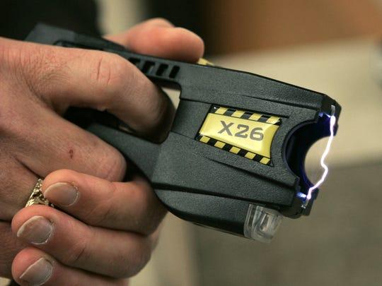 A Taser X26 stun gun.